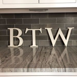 Pottery Barn Decorative Letters